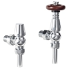 Oxford Thermostatic Angled Valves